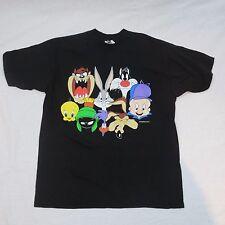 Vintage 90s 1993 UBI Warner Bros Black Short Sleeve T-shirt Size XL
