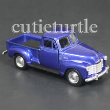 "4.75"" Welly 1953 Chevy 3100 Pick Up Truck Diecast Toy Car 43708D Blue"