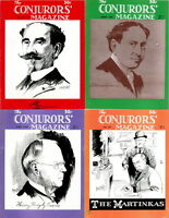 55 RARE ISSUES Of CONJURORS MAGAZINE (1945-1949) MAGIC, CONJURING, TRICKS ON DVD
