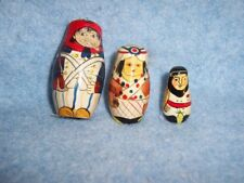 Matrioshka Nesting Dolls- Soldiers 3 pcs, 3in