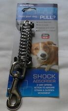 Ancol Metal Shock Absorber Silver Large, Will fit Standard Lead