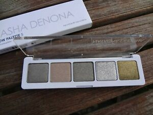 BNIB NATASHA DENONA 5 Pan Eyeshadow Palette - Palette 09 - Sparkling Foil &  Met