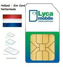 Lycamobile Prepaid Sim - Guthaben- Keine Ausweis ID - Registriert -Rein U.FERTIG