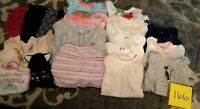 Girls Clothes 0-3 Month - Fall/Winter - Mixed Lot of 20 Pieces #166