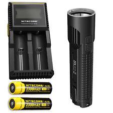 Nitecore EC4 1000Lm XM-L2 U2 LED Flashlight w/D2 Charger & 2x NL183 Batteries