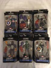 7 Marvel Captain America Legends Series Red Skull Forces of Evil Action Figures