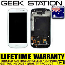 for Samsung Galaxy S3 SIII LCD i9305 LCD touch screen digitizer white in frame