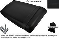 BLACK STITCH CUSTOM FITS SUZUKI GSXR 400 GK 76 A REAR LEATHER SEAT COVER