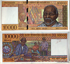 MADAGASCAR Billet 10000 FRANCS   1994 - 1995  P79 NEUF UNC