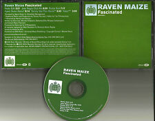 RAVEN MAIZE Fascinated 6TRX REMIXES & DUB & VIDEO PROMO DJ CD MINISTRY OF SOUND