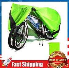 Outdoor Waterproof Bike Oxford Cover for 2 Bikes 24'' UV Dust Sun Wind Proof