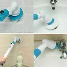 Turbo Scrub Electric Cleaning Brush Head 3pcs Set Tile Bathroom Kitchen Home