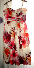 Rinascimento Damen Kleid Sommerkleid Corsagenkleid bunt Gr. L 38-40 NEU 189,95€