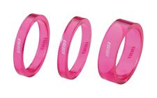 """BBB Polycarbonate  Headset Spacer Kit 1""""1/8  PINK  BHP37  T105"""