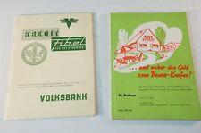 60er Jahre Volksbank Finanzierungsfibel Oldenburg Wübbenhorst 1959 B5360