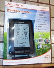 Acurite Pro Digital Weather Center Forecast Temp Humidity Wind speed 3n station