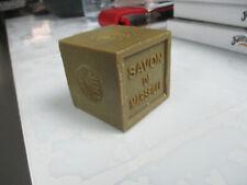 authentique savon de marseille extra pur 72% d huile cube de 300g