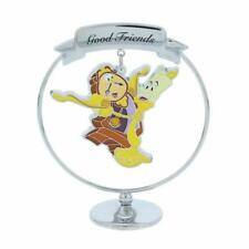 Disney Chrome Plated Cogsworth And Lumiere Good Friends Gift Boxed  DI393