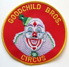 Goodchild Bros. Circus Patch