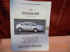 2007 CHRYSLER SEBRING SERVICE SHOP REPAIR MANUAL VOLUME 2  81-270-07055