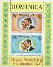 Timbres Famille royale Dominique BF20 ** (39115)