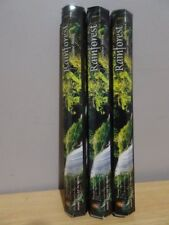 Rainforest Incense  3 Packs x 20 Sticks Kamini Hex  Free Post AU