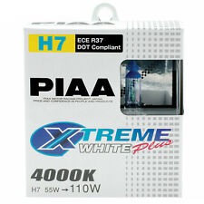 PIAA Xtreme White Plus H7 Car Replacement Headlights Bulbs (Twin Pack) HE309