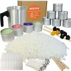 ACEYFD Candles Making Kit Supplies -Easy To Make Colored Candles- DIY Gift Kits