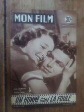 Magazine MON FILM A PIED, A CHEVAL ET EN VOITURE gil VIDAL sophie DAUMIER 1957 *