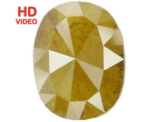 Natural Loose Diamond Oval I3 Clarity Yellow Coffee Color 9.50 MM 2.00 CT N6395