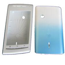 Case Fascia Housing Cover Fits S. Eric Xperia X8 E15i light Blue & White UK