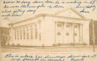Alameda California C-1905 1st Presbyterian Church Blueburg undivided 1073