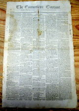 <1801 newspaper THOMAS JEFFERSON LETTER to RHODE ISLAND thanking forhis election
