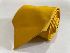 Burberry Men's Yellow Silk Neck Tie $185