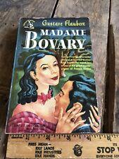 VINTAGE POCKET PAPERBACK MADAM BOVARY gustave flaubert 3rd Print 1948