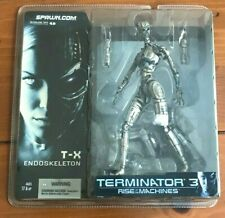 McFarlane Terminator 3 Rise of the Machines T-X Endoskeleton Figure