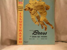 NFL 12-5-64 CHICAGO BEARS VS GREEN BAY PACKERS OFFICAL PROGRAM