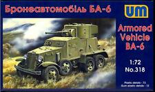 UM-MT Models 1/72 Soviet BA-6 ARMORED CAR