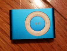 Ipod Shuffle Aqua With Case And Charger