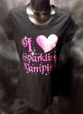 """I Love Sparkling Vampires"" Self Esteem Teen Large L Ladies Tee Shirt T 34""bust"