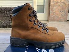 Red Wing Shoes Work Boots Safety Toe leather Waterproof sz 10.5 shoe