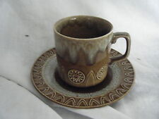 C4 Pottery Crown Ducal Astra Cup & Saucer 15x9cm 4F4A