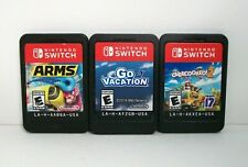 Overcooked 2 Arms Go Vacation (Nintendo Switch) Games Lot Family Kids ~Combine~