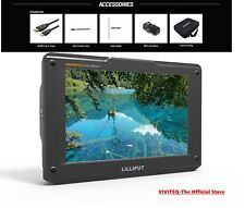 """LILLIPUT H7 4K 7"""" Field Monitor Ultra Bright 1800nit HDMI In&Out 3D Lut Peaking"""