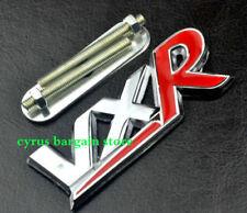 Red Vauxhall VXR Grille Emblem For Zafira Tourer Corsa Honeycomb Badge