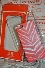 Signature iPhone 5 COACH Zebra print Hard Shell CASE