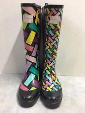 Little Missmatched Crazy Coordinate Wellies Rain Boots kids Size 6