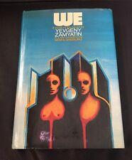 We By Yevgeny Zamyatin - 1972 Hardcover - Mirra Ginsburg translation