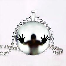 Luminous Fairy Glow In the Dark Cabochon Glass Pendant Fashion Xmas Necklace