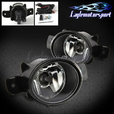 For 2005 2006 Nissan Altima/Maxima Clear Fog Lights With Wiring & Switch NEW